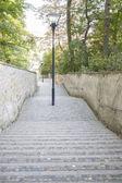 Petrin hill park, prague, çek cumhuriyeti — Stok fotoğraf