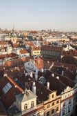 Vista da cidade de praga, república checa — Fotografia Stock