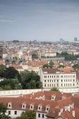 都市の景観、プラハ、チェコ共和国 — ストック写真