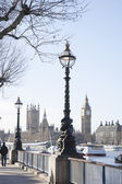 Big Ben and the Houses of Parliament, London — Stock Photo