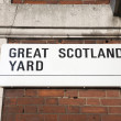 Great Scotland Yard Street Sign, Westminster, London — Stock Photo #49166653