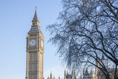 Big Ben and the Houses of Parliament, Westminster, London — Stok fotoğraf