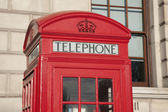 Red Telephone Booth, London — Stockfoto