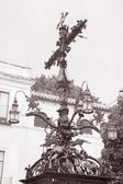 Plaza de Santa Cruz Cross and Square, Seville — 图库照片