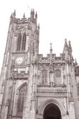 Cathedral Church, Manchester, England — Foto Stock