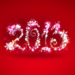 Happy New Year 2013 Greeting Card Template — Stock Photo #12718730
