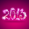Happy New Year 2013 Greeting Card Template — Stock Photo #12718731