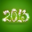 Happy New Year 2013 Greeting Card Template — Stock Photo #12718733