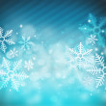 Beautiful snowflake Christmas background — Stock Photo #12718827