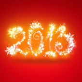 Happy New Year 2013 Greeting Card Template — Stock Photo