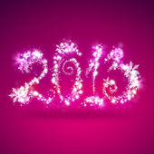 新年快乐 2013年贺卡模板 — 图库照片