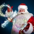 Santa Claus Christmas discount sales concept — Stock Photo #13178046
