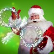 Santa Claus Christmas discount sales concept — Stock Photo #13178061