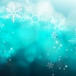 Abstract blue Snowflake background — Stock Photo #13623564
