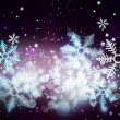 Abstract Christmas background with snowflakes — Stock Photo #13623659