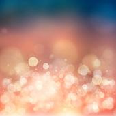 Bokeh. abstraktní přirozené pozadí — Stock fotografie