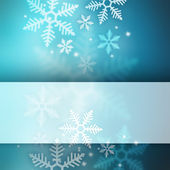 Abstract winter background with copyspace — Stock Photo