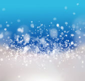 Abstract Winter background with beautiful bokeh — Stock Photo