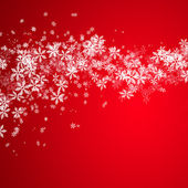 Beautiful snowflake Christmas background — Foto Stock