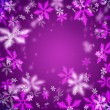 Beautiful abstract snowflake Christmas background — Stock Photo