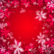 Beautiful abstract snowflake Christmas background — Stock Photo #14601877