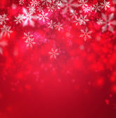 Beautiful snowflake Christmas background with copyspace — Stock Photo