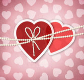 Valentine's day greeting card template — Stockfoto