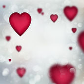 Abstract background to the Valentine's day — Foto Stock