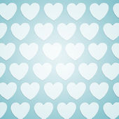 Valentine background: hearts ornament — Stock Photo