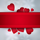 Valentines background with copyspace — Stock Photo