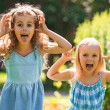Little girls having fun together — Stock Photo #28992881