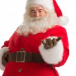 Santa Claus gesturing his hand — Stock Photo #31418157