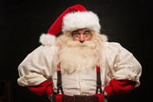 Gloomy Santa Claus portrait — Stock Photo