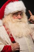 Weihnachtsmann haben eine idee — Stockfoto