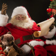 Portrait of happy Santa Claus — Stock Photo