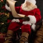 Portrait of happy Santa Claus — Stock Photo