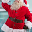 Santa at Airport — Stock Photo #33877349