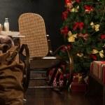Christmas living room — Stock Photo