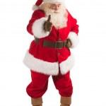 Santa Claus showing thumb up — Stock Photo #34273951