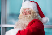 Santa Claus closeup portrait — Stock Photo