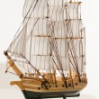 Wooden ship toy model — Stock Photo #35232771