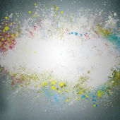 Creative grunge background. Graffiti splatter on a wall — Stock Photo