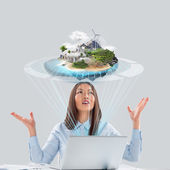 Better world project concept — Stock Photo