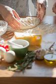 Mujeres de cocina — Foto de Stock