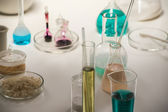 Laboratory glassware liquid — Stockfoto