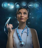 Future or  medical concept — Stock Photo