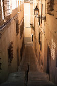 Street in the Old city of Toledo — Stockfoto