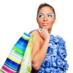 Beautiful shopping woman — Stock Photo #6654758