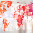 Photo of business are glowing at world map. International — Stock Photo #8662386