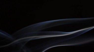 Slo-mo sfocata tripla fumo 5 — Video Stock